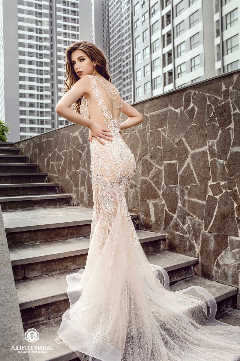 """Mẫu váy cưới 2019 nào đang là xu hướng """"Hot"""" nhất trên thị trường hiện nay? - Juliette Bridal"""
