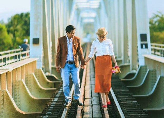 Cầu Sắt là một trong những di tích lịch sử lâu đời