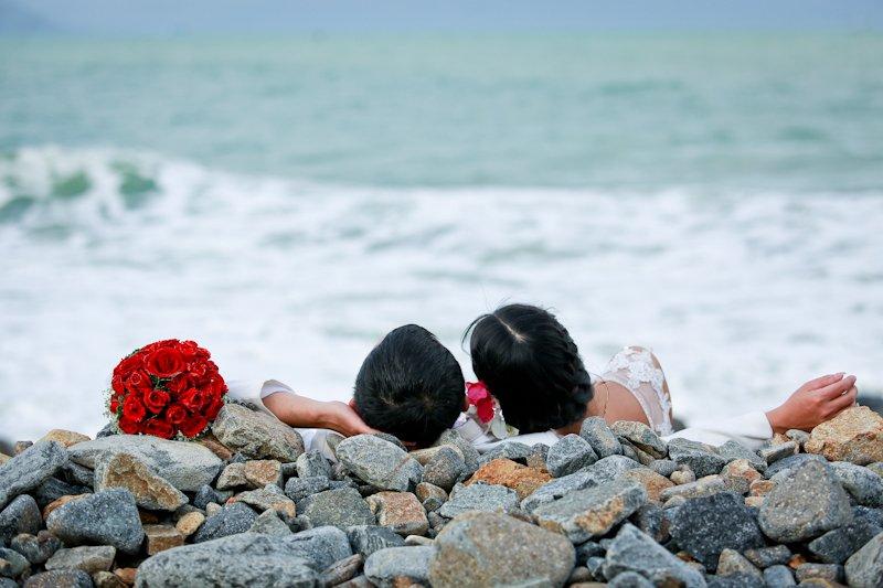 Vẻ đẹp bình dị là nơi để thực hiện bộ ảnh cưới ngọt ngào