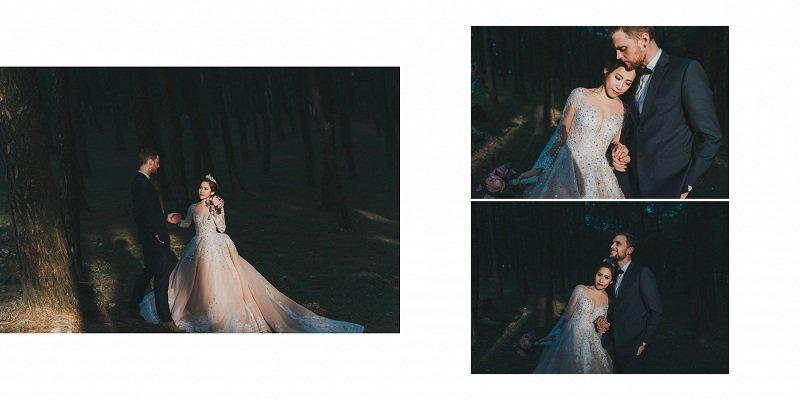 Bộ ảnh cưới đẹp này xứng đáng nhận được nhiều lời khen từ người xem
