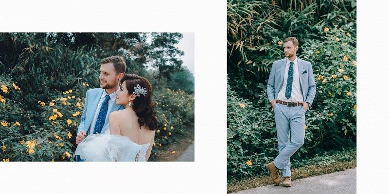 Album ảnh cưới đẹp 2018 này được thực hiện trên nền đơn giản, tự nhiên