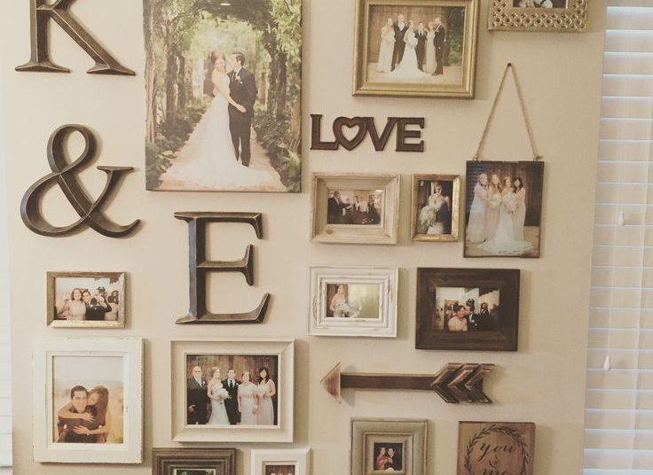 Những bộ ảnh của cô dâu chú rể trang trí phòng tân hôn vừa đơn giản tinh tế