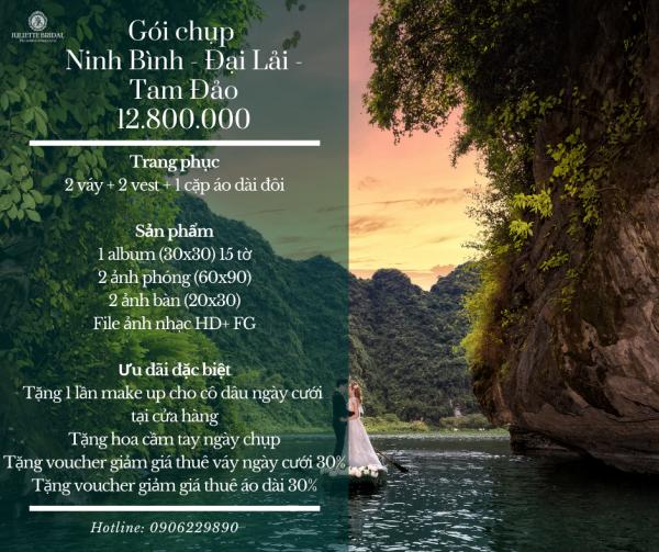 GÓI CHỤP PRE WEDDING | Ninh Bình - Đại Lải - Tam Đảo 1